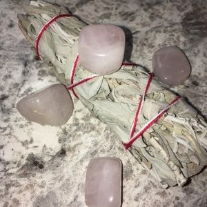 Other - 4-Piece Rose Quartz Crystals